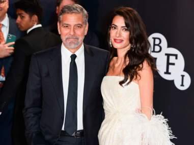 George et Amal Clooney illuminent le tapis rouge à Londres