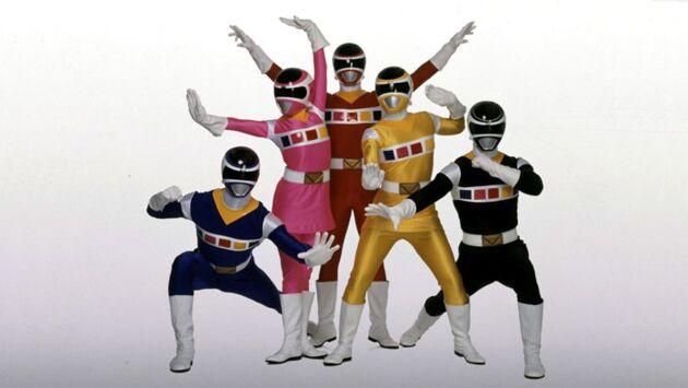 Power Rangers dans l'espace