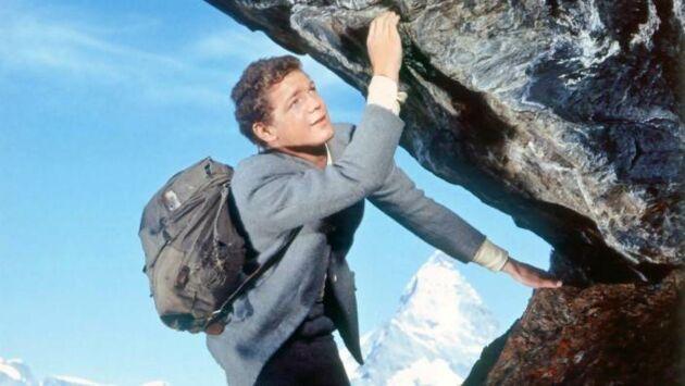Le troisième homme sur la montagne