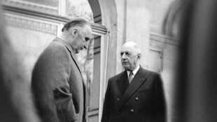 De Gaulle et Pompidou, jusqu'à la rupture