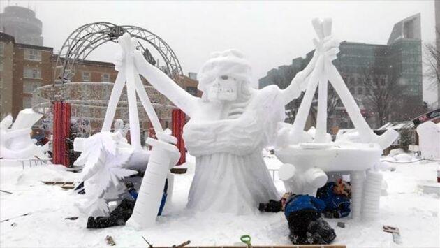 Québec, le carnaval du froid