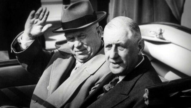 De Gaulle chez les Soviets