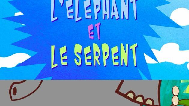 Les Fables en délire : La Poule, l'Eléphant et le Serpent