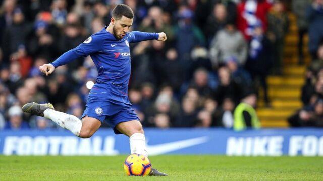 Les buts d'Eden Hazard en Premier League