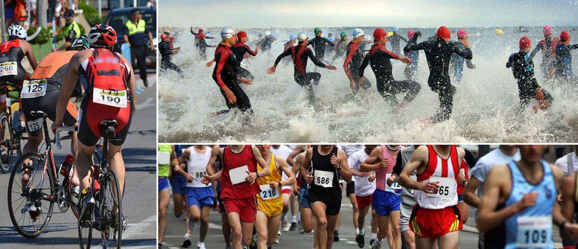 triathlon a la tele
