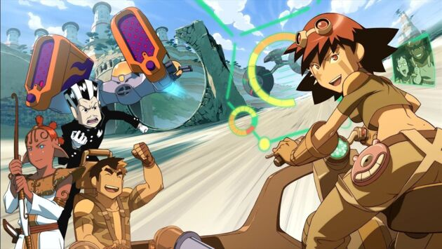 Les hostilités commencent - Oban Star Racers - Télé-Loisirs