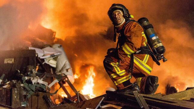 Le bataillon de marins-pompiers de Marseille
