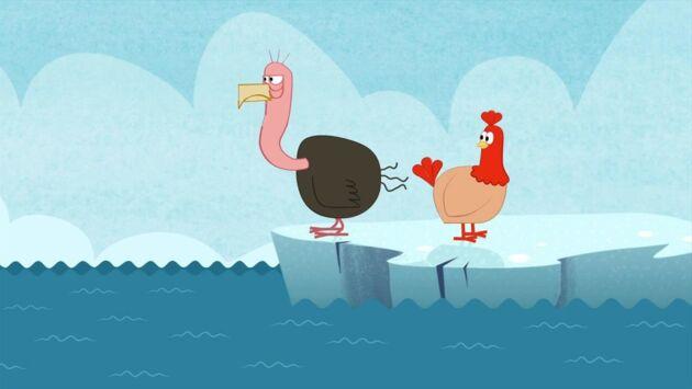 La poule, le chat... et autres bestioles