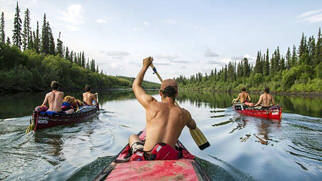Le Yukon à la rame