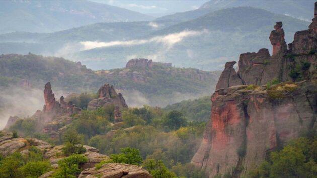 Les montagnes bulgares