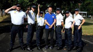 Les touristes Mission école de police 09 Aout 2019