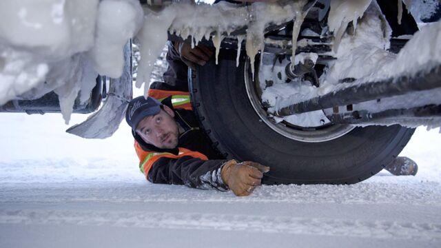 Le convoi de l'extrême : l'hiver de tous les dangers