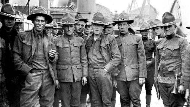 1917, «La Fayette nous voilà !»
