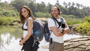 Perdus au milieu de nulle part Valérie Bègue et Philippe Candeloro