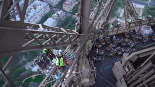 Pleins feux sur la Tour Eiffel
