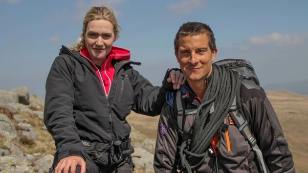 kate winslet - bear grylls   vip vs  wild