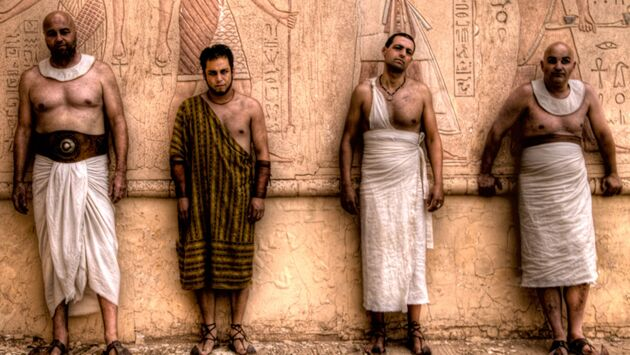 Braquage à l'égyptienne