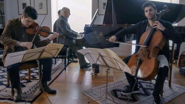 Concert privé chez Daniel Barenboim