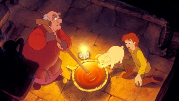 Taram et le chaudron magique