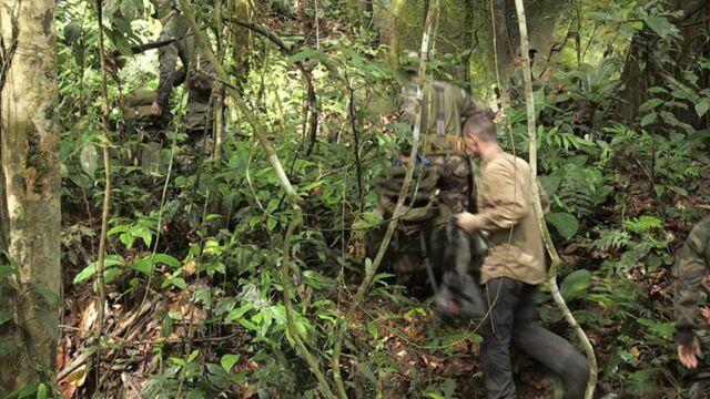 Une frontière dans la jungle
