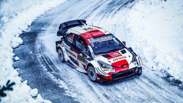 WRC : Rallye arctique de Finlande
