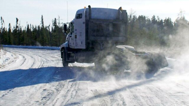 Le convoi de l'extrême : chaos sur la glace