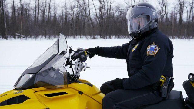 Police en Alaska