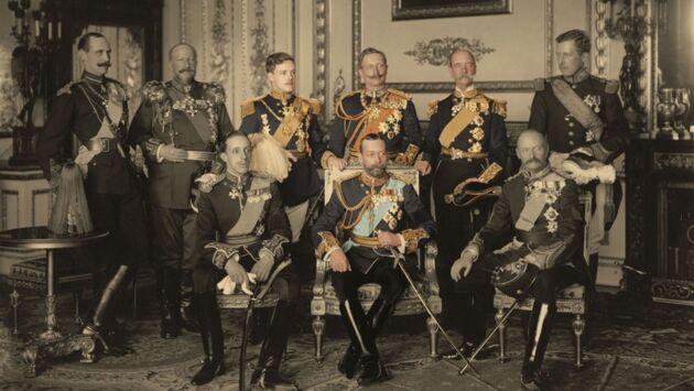 Familles royales au coeur de la guerre