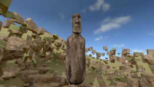 Enquête sur l'île des moaï