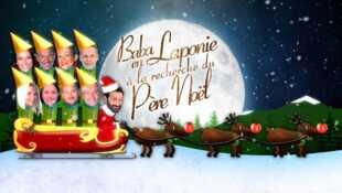Baba en Laponie à la recherche du Père Noël