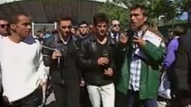 Les allées de Roland Garros