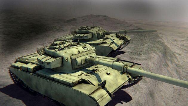 Tanks vs tanks