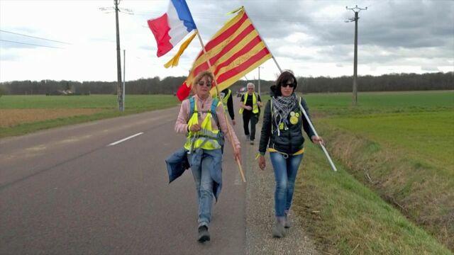 La marche des femmes