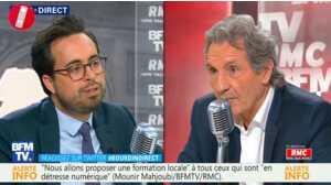 Le secrétaire d'Etat Mounir Mahjoubi revient sur son coming-out au micro de Jean-Jacques Bourdin