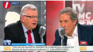 """Machiavel"", ""Pervers""...Christian Eckert attaque Emmanuel Macron chez Bourdin"