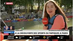 CNews : une reporter suffoquée par la question culottée de Thomas Lequertier en plein direct