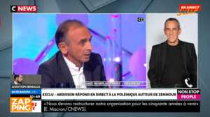 Polémique Zemmour : Thierry Ardisson flingue Hapsatou Sy en direct sur CNews