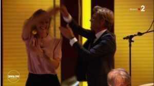 Alexandra Lamy et Laurent Delahousse dansent ensemble sur le plateau de 20h30 le dimanche