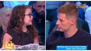 Le coup de gueule d'Emma (The Voice Kids) contre Matthieu Delormeau dans TPMP