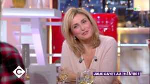 Interrogée sur François Hollande, Julie Gayet recadre Anne-Elisabeth Lemoine dans C à vous