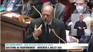 Éric Dupond-Moretti chahuté pour sa première à l'Assemblée nationale !