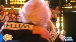 Audrey Lamy émue aux larmes lorsque son père débarque par suprise sur le plateau de TPMP