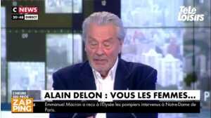 Alain Delon encense sa fille et émet des réserves sur son fils, Alain-Fabien