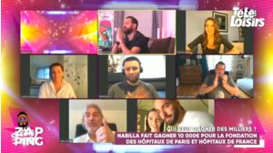 TPMP : le très beau geste de Nabilla et Thomas pour les hôpitaux de France