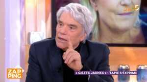 Bernard Tapie recadre Anne-Elisabeth Lemoine après une boulette dans C à vous
