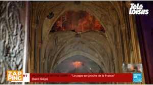 Découvrez les premières images de l'intérieur de Notre-Dame de Paris