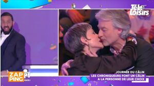 TPMP : le baiser enflammé de Gilles Verdez et Isabelle Morini-Bosc choque Cyril Hanouna et ses chroniqueurs (VIDEO)