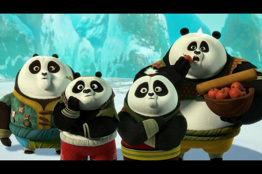 Return Of The Four Constellations S1e10 Kung Fu Panda The Paws Of Destiny Tele Loisirs