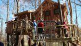 Culture Infos : Cabanes perchées