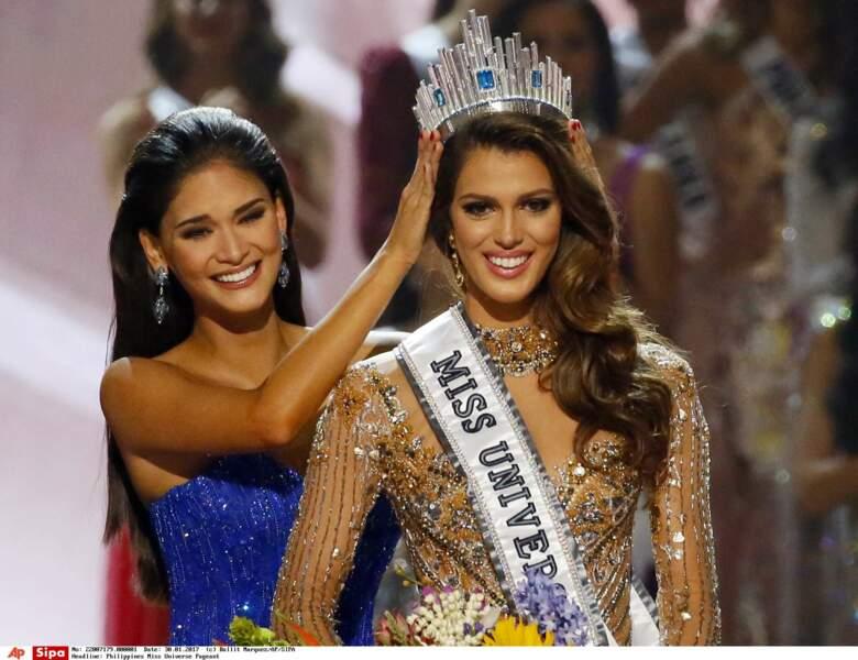 La Française Iris Mittenaere a été couronnée Miss Univers ce 30 janvier à Manille
